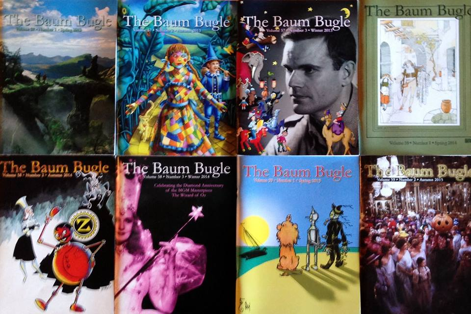 Issues of the Baum Bugle that I have published to date: spring 2013 through autumn 2015